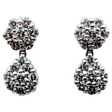 18kt Diamond Dangle Earrings