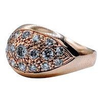 .75ctw Vintage Diamond Pave Dome Ring