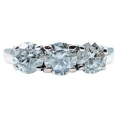 2ctw Diamond 3-Stone Ring