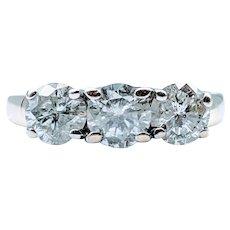 2ctw Diamond 3-Stone Ring