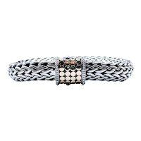 Retired John Hardy Chain Bracelet SS/18k