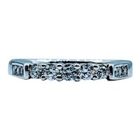 14kt 3/8ctw Diamond Band