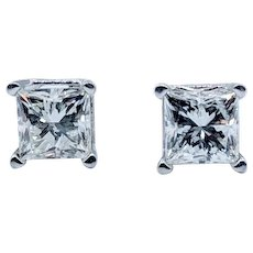 .80 ctw Diamond Stud Earrings