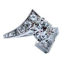 1940's Diamond Engagement Ring