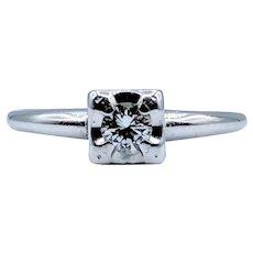 White Gold .15ct Diamond Ring