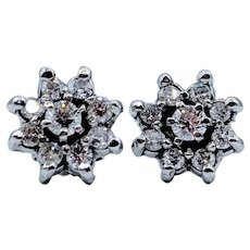 0.75ctw Diamond Stud Earrings