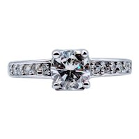 1.05ctw Vintage Diamond Engagement Ring