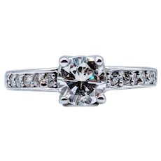 1.05ctw Vintage Diamond Engagement Ring