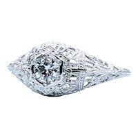 Stunning Art Deco Diamond Ring