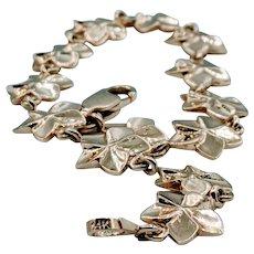 Daisy Flower Gold Bracelet
