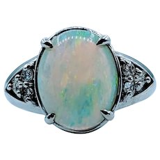 Lovely Vintage Opal Ring