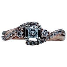 Beautiful 10kt 0.25ctw Diamond Ring