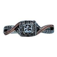 Gorgeous 10ktt 0.25ctw Diamond Ring