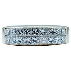 1.25ctw Channel Set Diamond Band