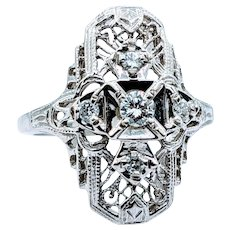 Gorgeous .15ctw Diamond Dinner Ring