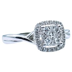 1/3ctw Diamond Engagement Ring