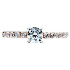 Beautiful .80ctw Diamond Ring