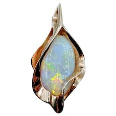 Massive 14kt Freeform Opal Pendant
