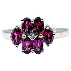 1 ctw Garnet Ring