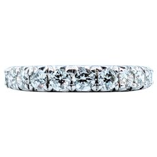 Brilliant Graduated Diamond Band