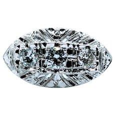 Mid-Century .35ctw Diamond Right Hand Ring
