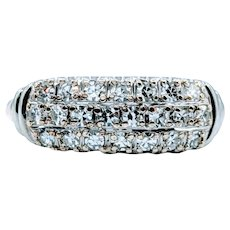 Gorgeous Vintage .37ctw Diamond Band