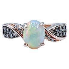 LeVian Opal & Diamond Ring