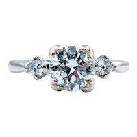 .85ct Vintage Diamond Engagement Ring