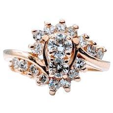 3/4Ctw Diamond Cocktail Ring