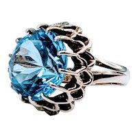 Vintage 14kt Topaz Ring