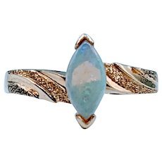 Vintage Marquise Opal Ring
