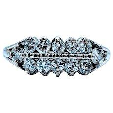 Gorgeous Vintage .70ctw Diamond Ring