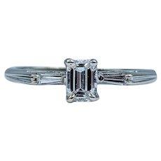 Gorgeous Emerald Cut Diamond Ring