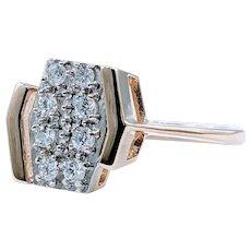 Striking Diamond & 14K Gold Fashion Ring