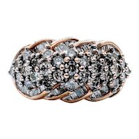 Champagne Diamond Cocktail Ring