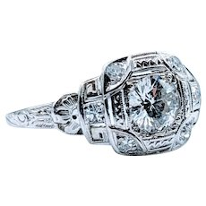 Stunning Art Deco Diamond Ring