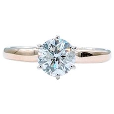 Stunning 1.25ct Diamond Solitaire Ring