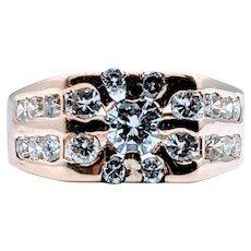 Gents Starburst Diamond Ring 2.00ctw