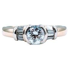 Gorgeous .62ctw Diamond Ring