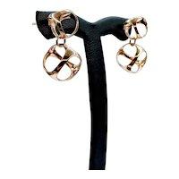 Stunning Di Modolo Triandra 18k Earrings