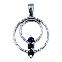 Gorgeous Natural Sapphire Pendant