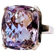 Stunning 23.78ct Ametrine Ring