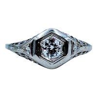 Stunning 1920s Diamond Ring