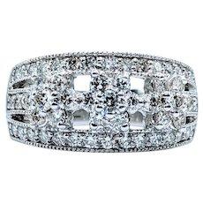 1.50ctw Diamond Cocktail Ring