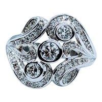 Gorgeous Diamond Cocktail Ring