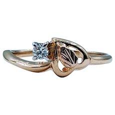 "Beautiful ""Black Hills Gold"" Diamond Ring"