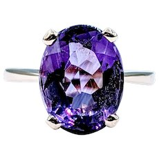 Rich and Colorful Amethyst Cocktail Ring