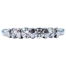 Vintage Four Stone Diamond Ring