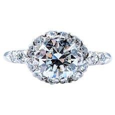 Magnificent Antique Diamond Engagement Ring