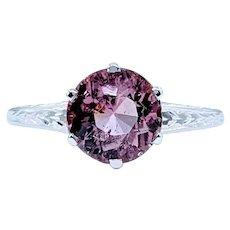 Elegant Vintage Tourmaline Dress Ring